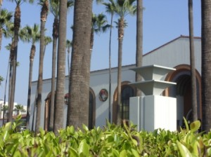 Los Angeles Union Station - Wreath Among Palms