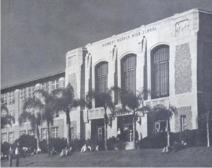 Hoover High School 1938 blog photo