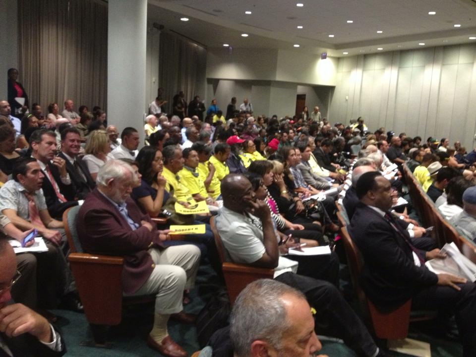 MTA Board Room, Thursday morning, June 27, 2013