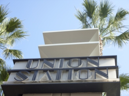 Union Station Entrance Post