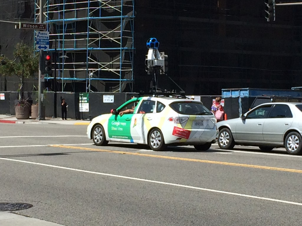 Google Car in Glendale